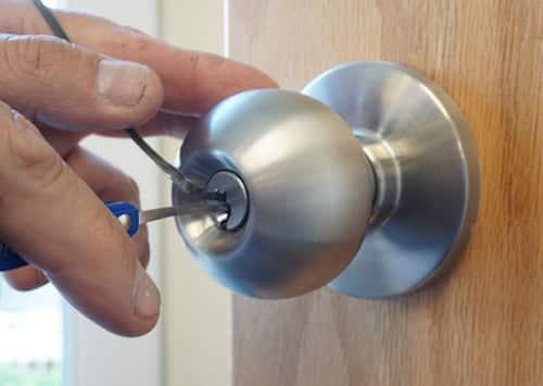 office lock unlocked